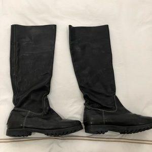 Pour la Victoire Black Tall Boot